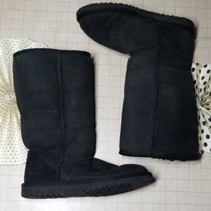 UGG Boots Ultra Tall Black size 6